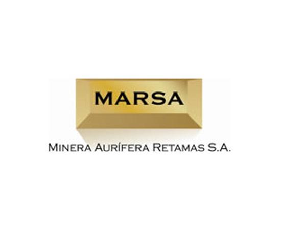 Logo Minería Aurífera Retamas S.A.
